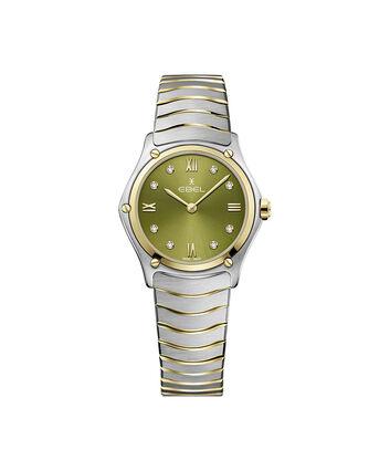 EBEL EBEL Sport Classic1216473A – Women's 29 mm bracelet watch - Front view