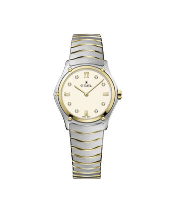 EBEL EBEL Sport Classic1216418 – Women's 29 mm bracelet watch - Front view